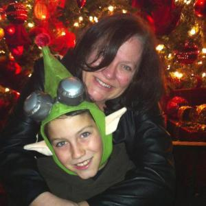 My friend Tami and her son Conner