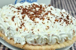Chocolate creme pie