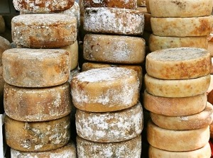 Italy has the best cheeses in the world!