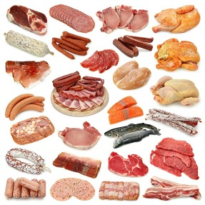 Various cuts of meat we eat