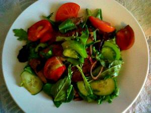Thai Basil Beef Salad
