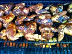 Chicken wings with my sweet and spicy rub