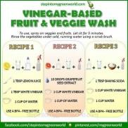 Chemical Free Fruit/Veggie Wash