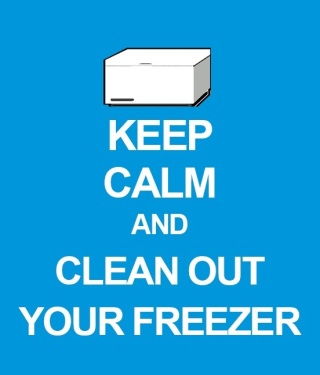 Don't forget the freezer