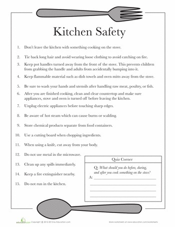 Basic kitchen cooking safety tips charts dishing it for 6 kitchen safety basics