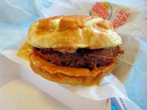 Burger King's version of the pulled pork sandwich.