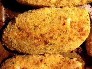 Have you ever seen a breading stick to a piece of chicken as if it were fried?