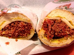 No matter how many times I order a pastrami from Togo's it is always packed and juicy!